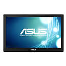 "ASUS 15.6"" MB168B USB-Portable Monitor, LED, 1366x768, 11ms, 200cd/m2, 500:1, 90°/65°, USB 3.0x1, Pivot Auto-Rotate, Ultra-slim, 0.8Kg, Smart Case, Si"